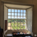 View from the Royal College of Needlework in Hampton Court Palace