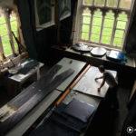 Printmaker Julian Meredith in his Studio