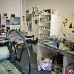 Artist Tom Hammick's Studio