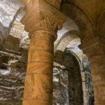 Filming in The Norman Chapel, Durham - Alan Fentiman