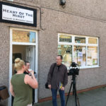 Filming Interview with documentary photogapher Mik Critchlow - Alan
