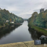 Filming Timelapse of the River Wear in Durham