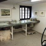 The Studio of printmaker Katherine Jones