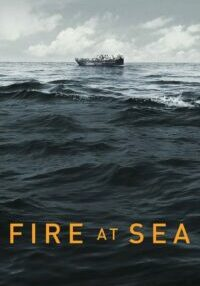 "Poster for the movie ""Fire at Sea"""